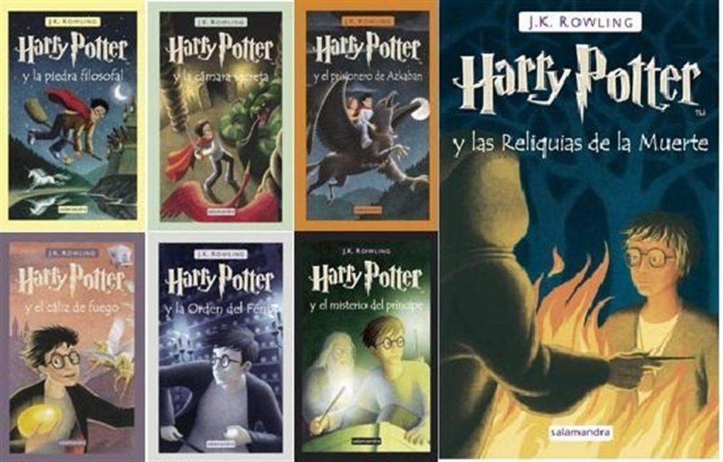 Todos los libros de la saga Harry Potter