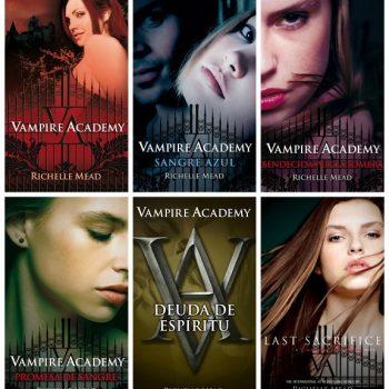 Textos de Academia de vampiros