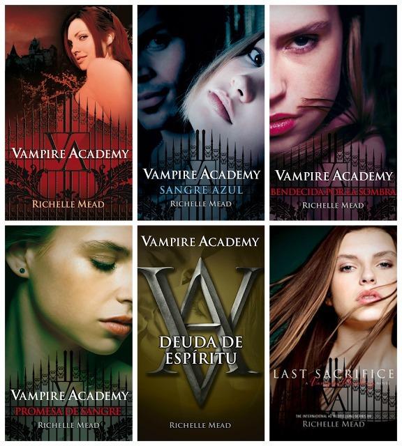 Mejores Libros de Academia de Vampiros