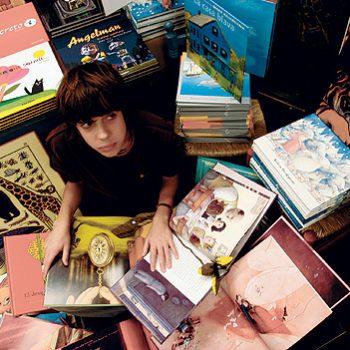 Representación de libros para adolescentes