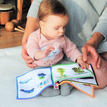 Representación de los textos para bebés