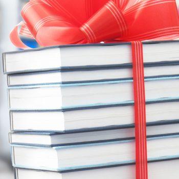 Representación de libros para regalar
