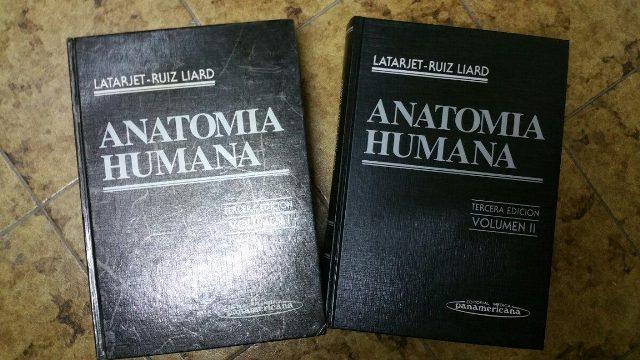 Textos de anatomía humana