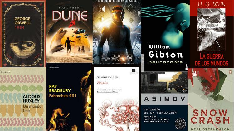 No te puedes perder estos libros de ciencia ficción