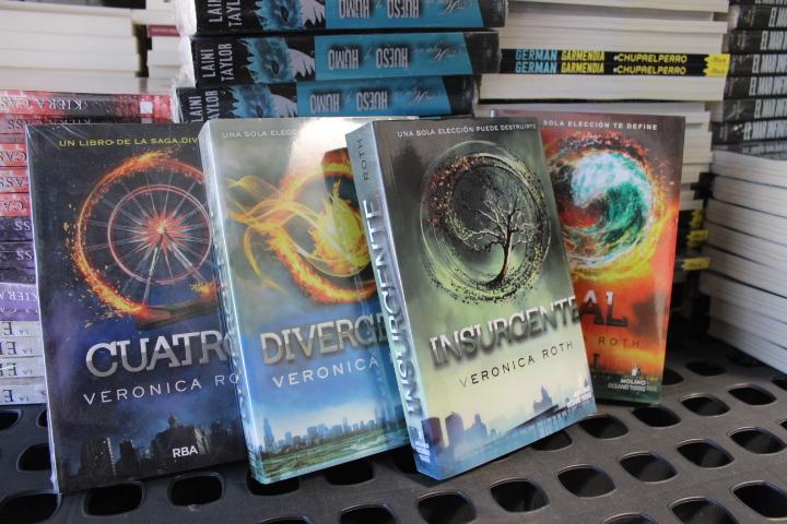 Detalles nuevos sobre los libros de divergente