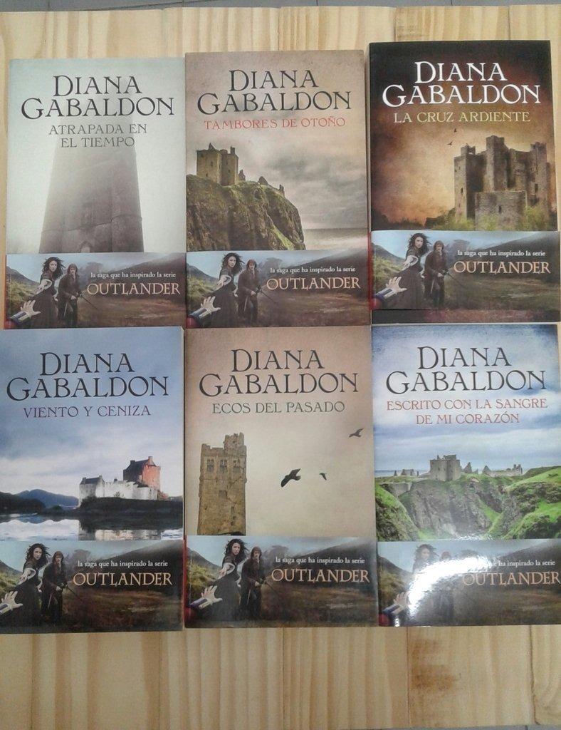 Mejores Libros de Diana Gabaldon