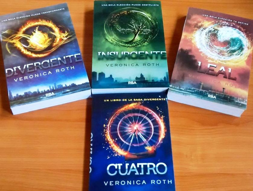 4 grandes libros de divergente vas a ver aquí.