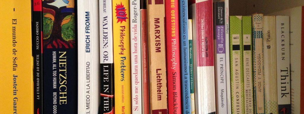 Existen distintos tipos de libros de filosofía y aquí verás algunos.