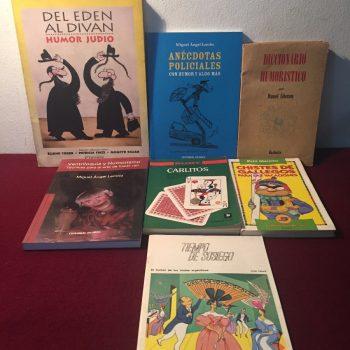 Descubre estos libros de humor.