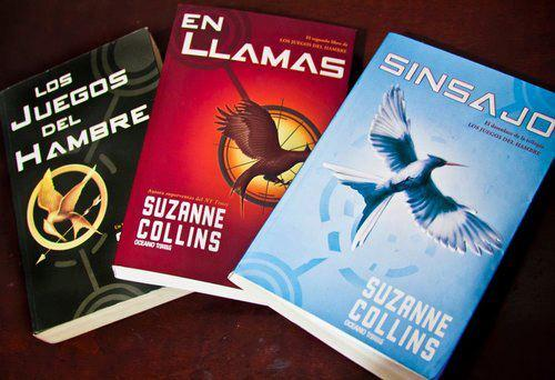 Descubre estos libros de los juegos del hambre.