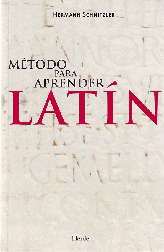 Aprender el idioma latín con libros