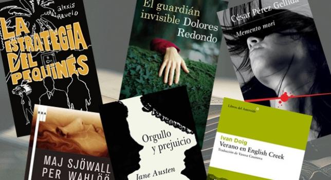 Los libros de novela negra cuentan con muchos temas de crímenes