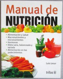 Con estos libros de nutrición tendrás una mejor alimentación.