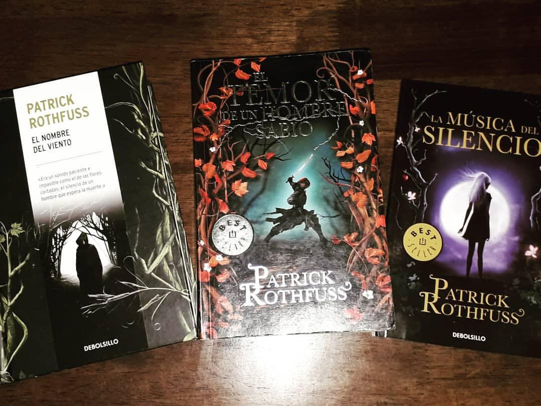 Mejores Libros de Patrick Rothfuss