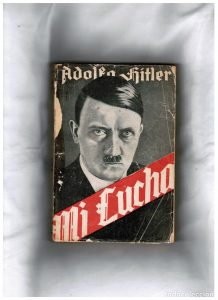 Libros de la segunda guerra mundial que Adolf Hitler escribió