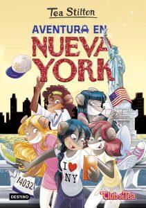 Conocerás las aventuras en New York con los libros de Tea Stilton