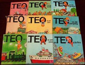 Conoce esta saga de libros de Teo